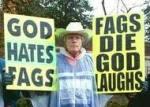 god hates fag idiot