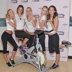 Victoria's Secret Angels Visit SoulCycle