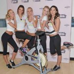 Victoria's Secret Angels Visit SoulCycle