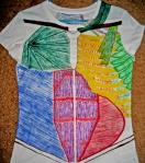 THE shirt anterior
