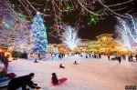 winter x-mas lights