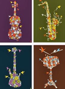 DMB flower instruments