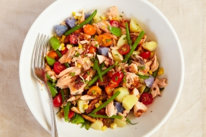 pretty salmon salad