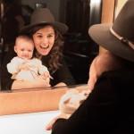Brandi and baby