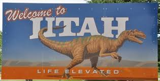 welcome to utah- t-rex