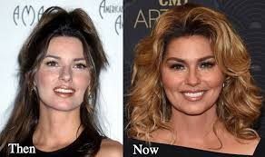 shania twain then and now